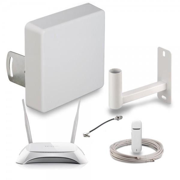 Комплект KDU15-4G-MR для усиления 3G-4G интернета Универсальный для дачи, загородного дома купить с доставкой