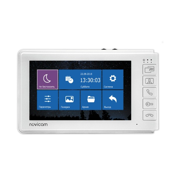 """Novicam SMILE 7 HD - 7"""" монитор HD домофона с записью купить с доставкой"""