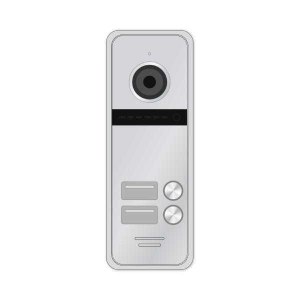 Novicam FANTASY 2 HD Black / Silver - 2 абонентская HD вызывная панель 1.3 Мп купить с доставкой
