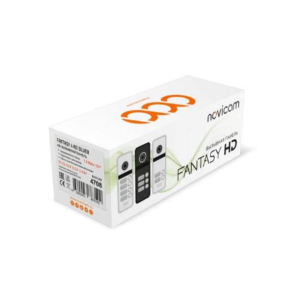 Novicam FANTASY 4 HD Black / Silver - 4 абонентская HD вызывная панель 1.3 Мп  купить с доставкой