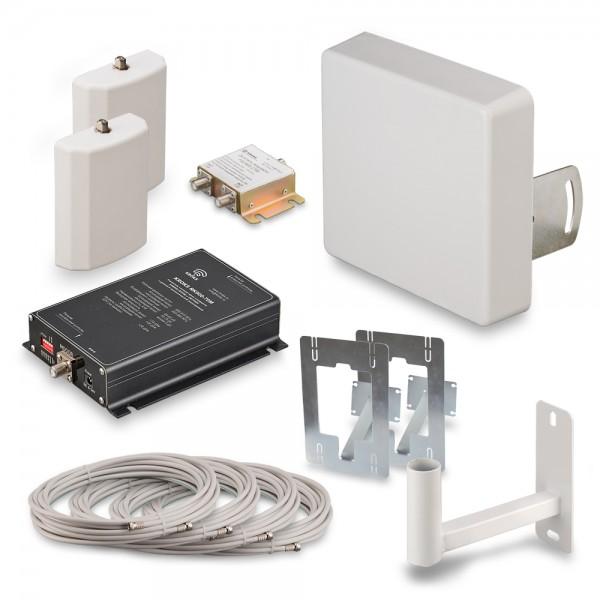 Комплект KRD-900-2 для усиления GSM900 и EGSM сигнала сотовой связи купить с доставкой