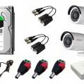Комплект видеонаблюдения HD 2 камеры купить с доставкой